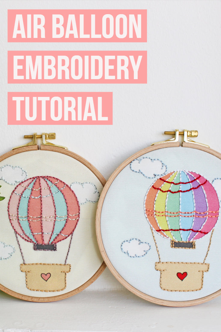 Hand Embroidery Tutorial