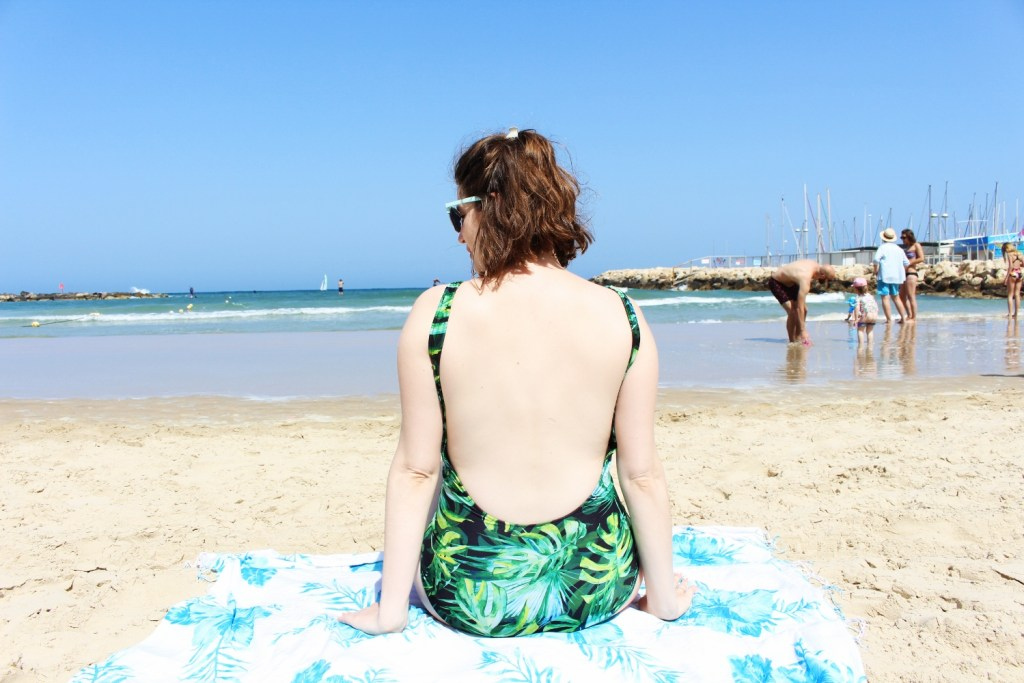 Maternity swimsuit sewing tutorial