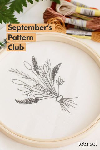 Embroidery Pattern Club