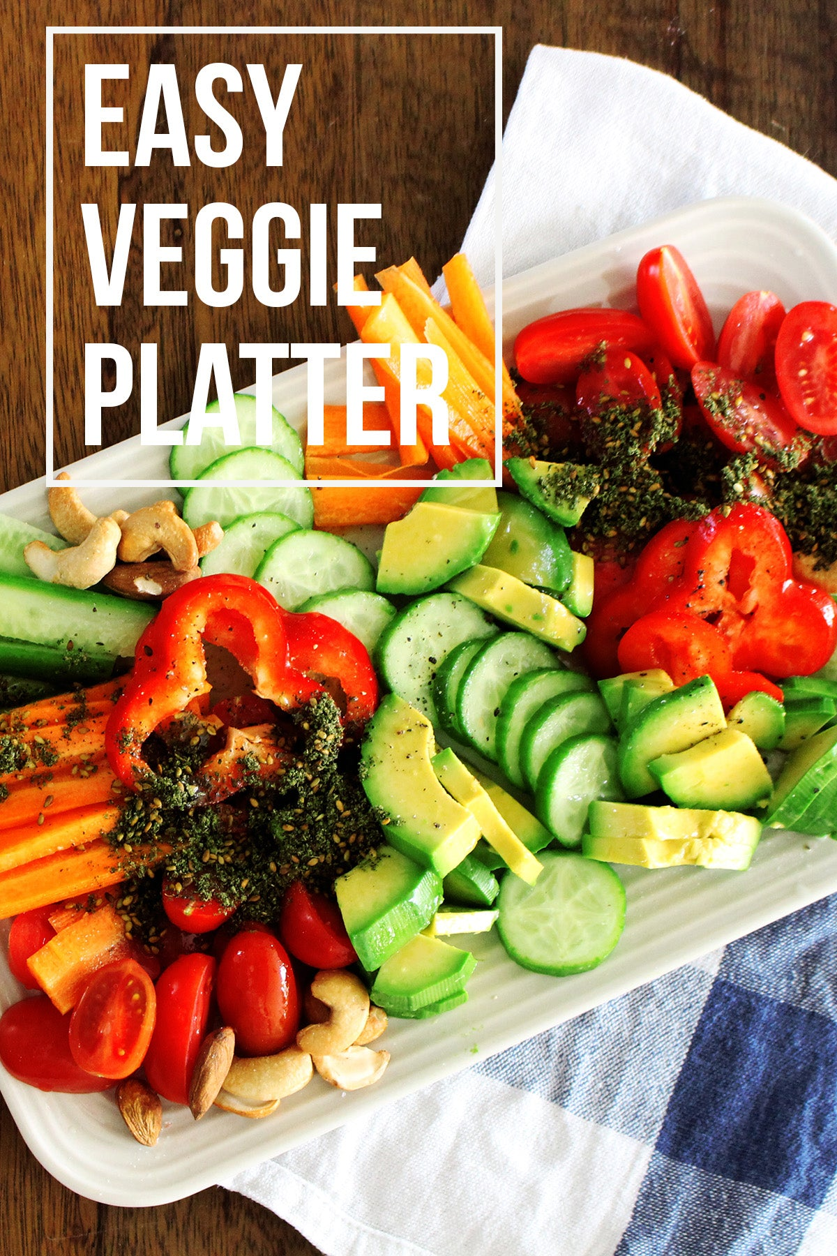 easy veggie board