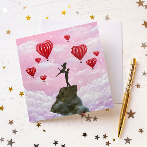 Higher Love Greeting Card