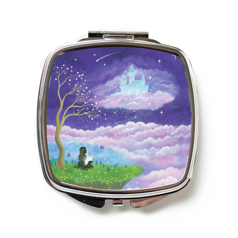 Imagination Will Take You Anywhere Compact Mirror