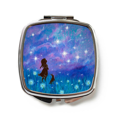 Make a Wish Compact Mirror