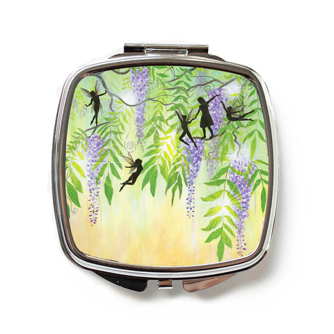Play With Fairies Compact Mirror