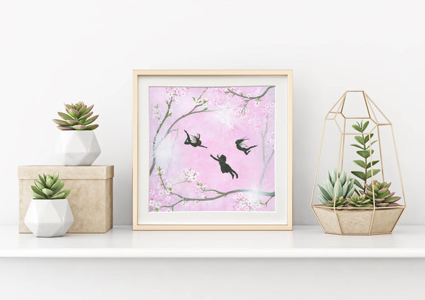 Let Your Dreams Blossom Mounted Print