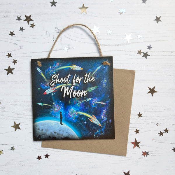 Shoot For The Moon Hanging Keepsake