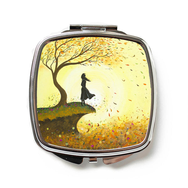 Go With The Flow Compact Mirror