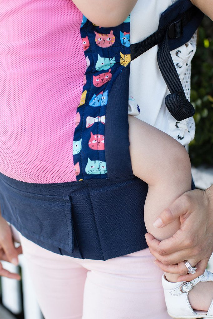 Tula Coast Mesh Baby Carriers Bot Boy & Meow Meow