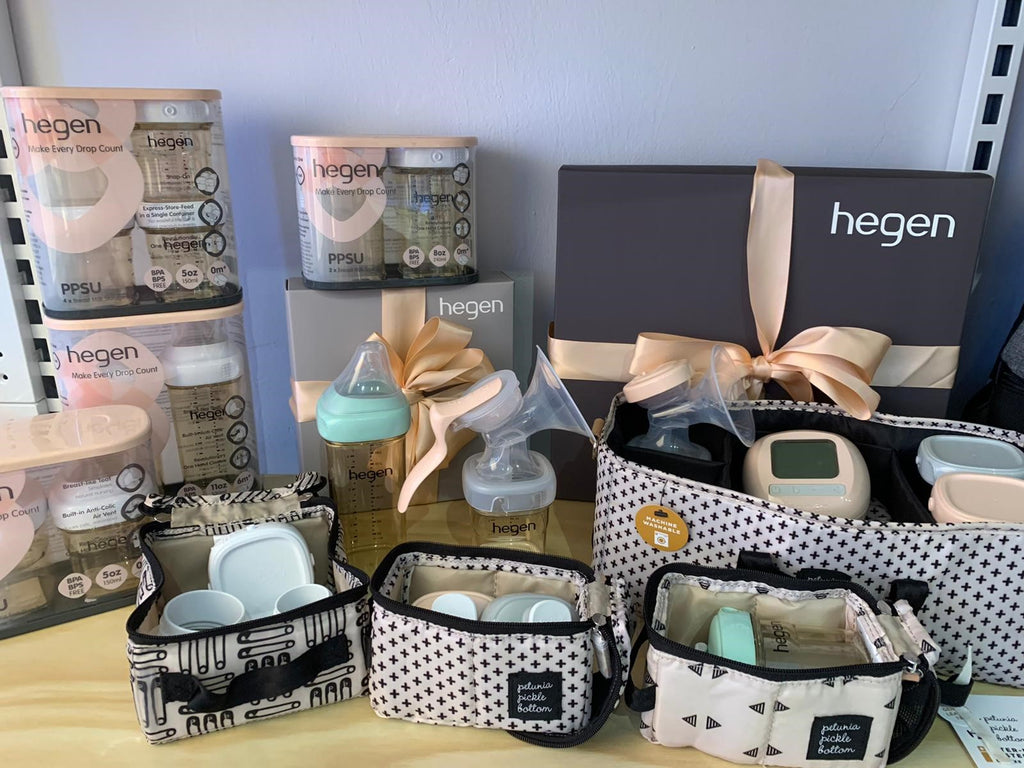 The Launch Of Hegen Milk Bottle and Breast Pump