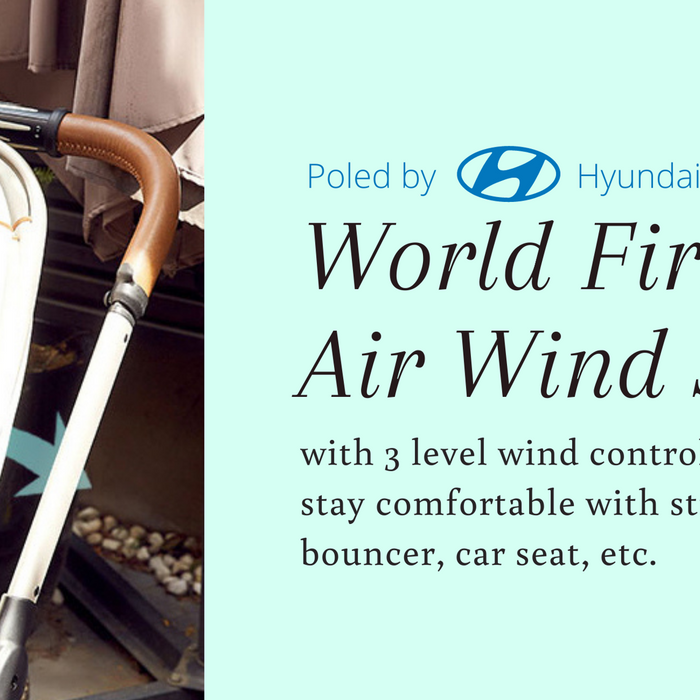 World First Air Wind Seat Liner | Poled AirLuv by Hyundai Motor Group