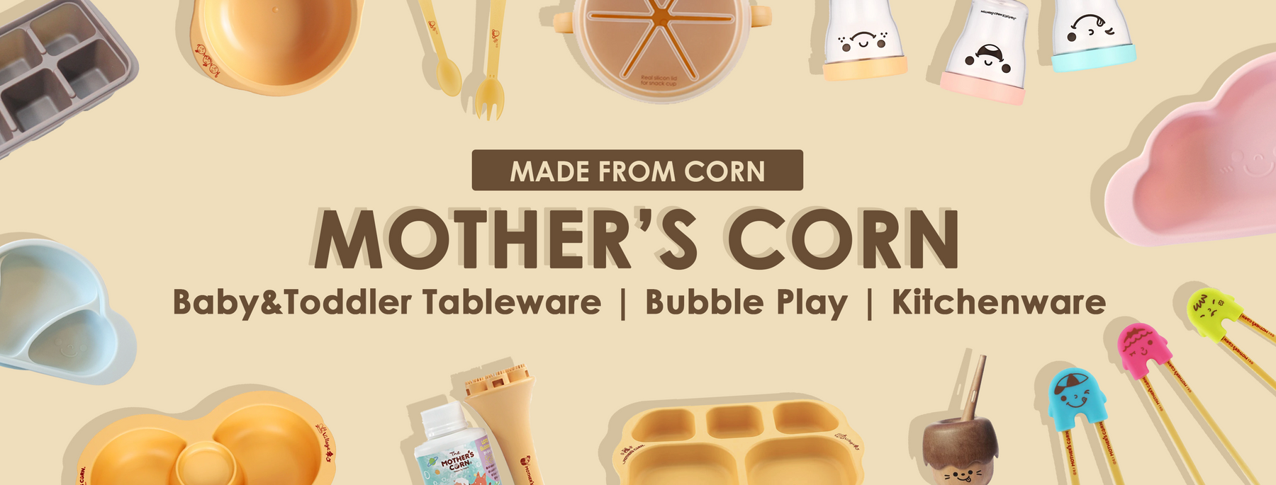 Mother's Corn Singapore: The Best baby feeding products