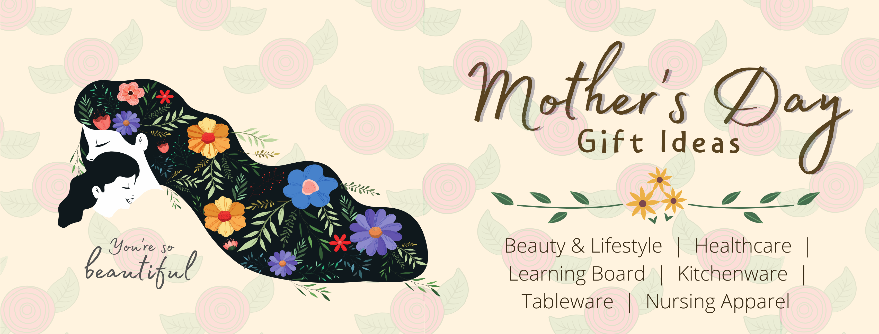 Mother's Day Gift Ideas 2020 - with gift wrap service