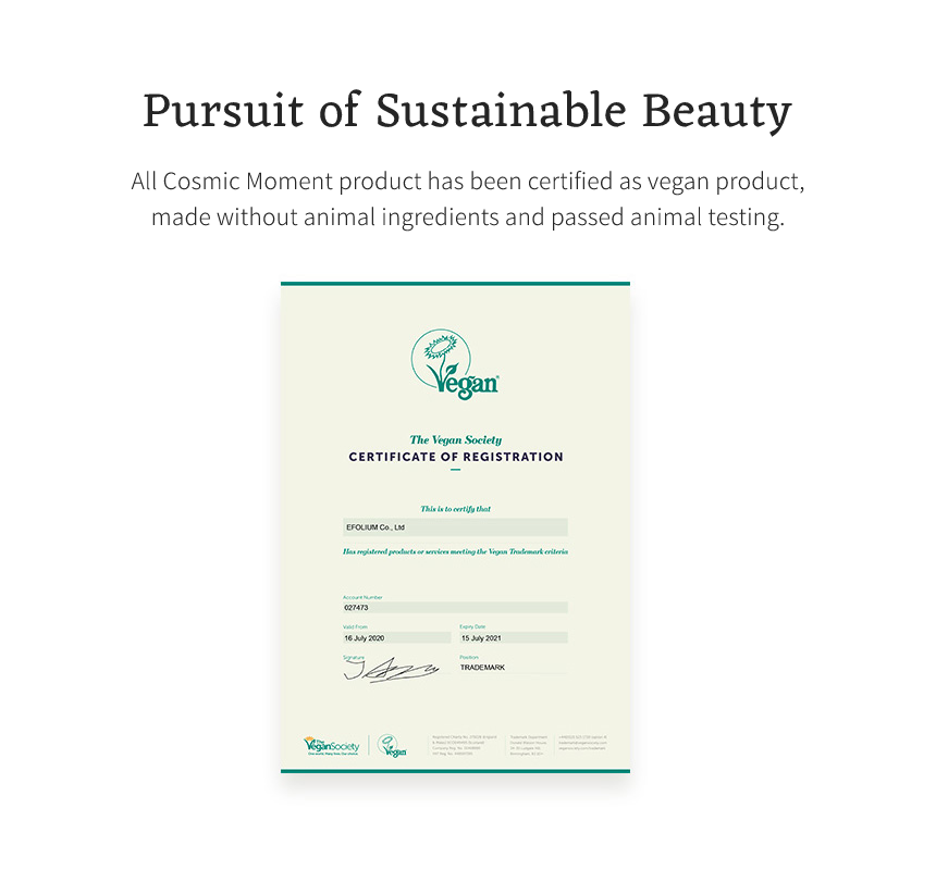 Cosmic Moment Sustainable Beauty Product