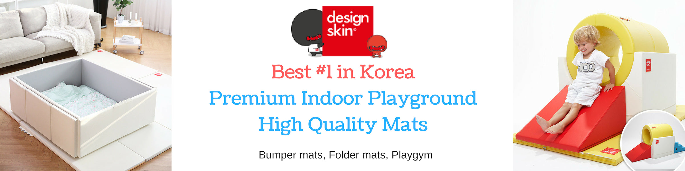 Designskin Indoor Playground Mats Singapore