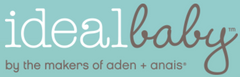 Ideal Baby by the Makers of Aden + Anais Swaddles 3 Pack - Road Trip