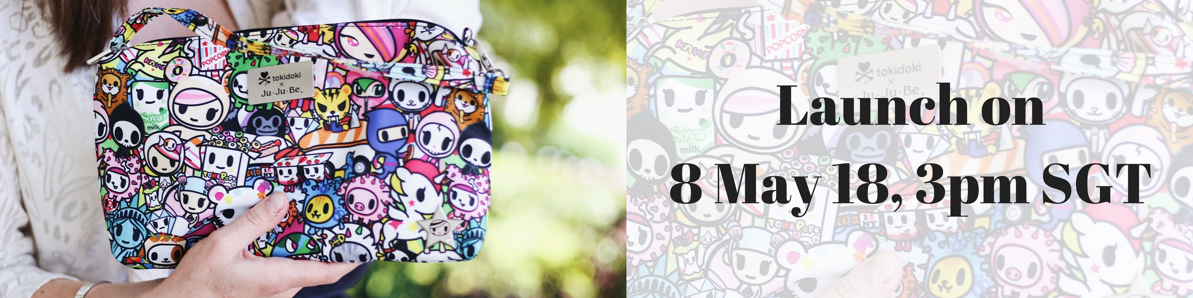 Jujube Tokidoki Iconic 2.0 Launch Singapore
