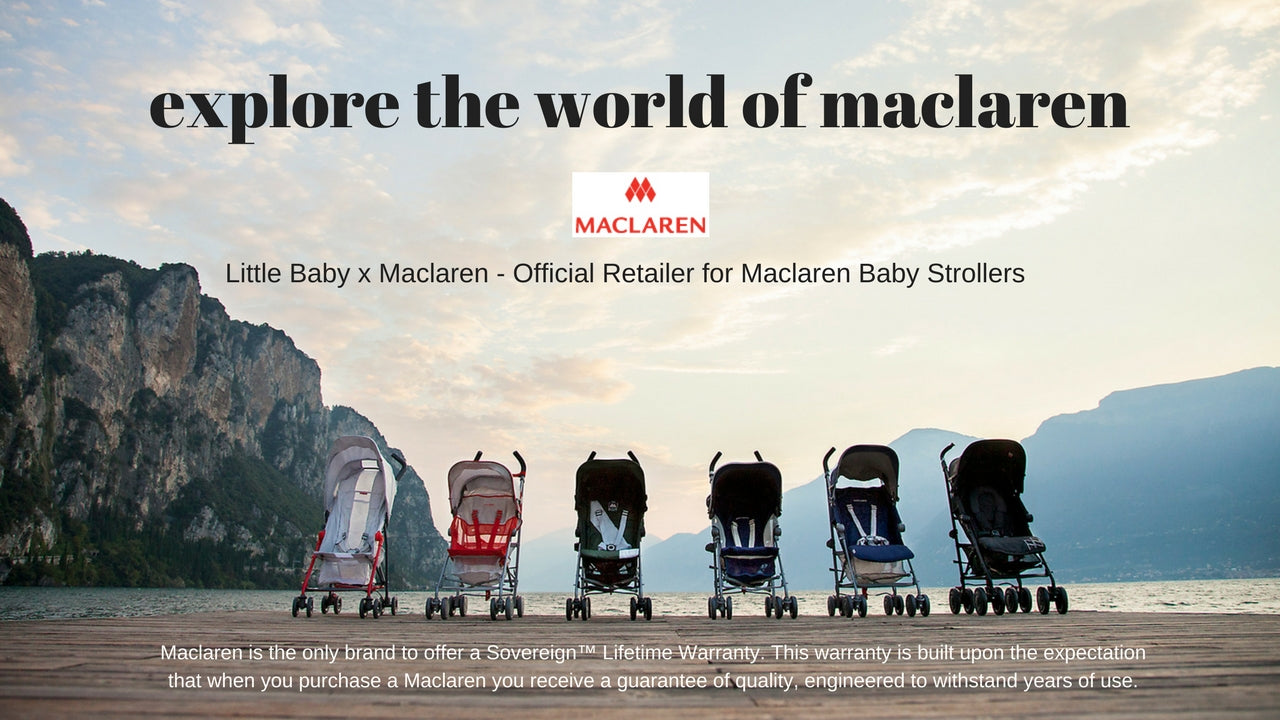 Maclaren Baby Stroller at Little Baby Singapore