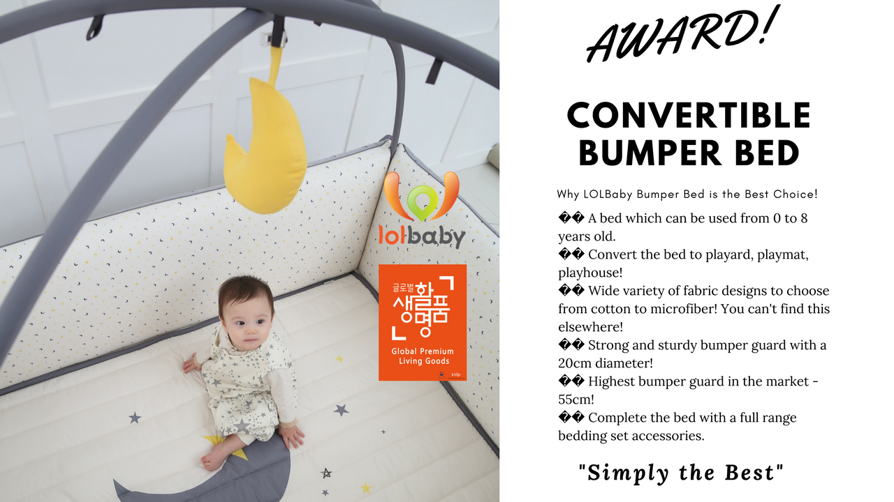 LOLBaby Bumper Bed