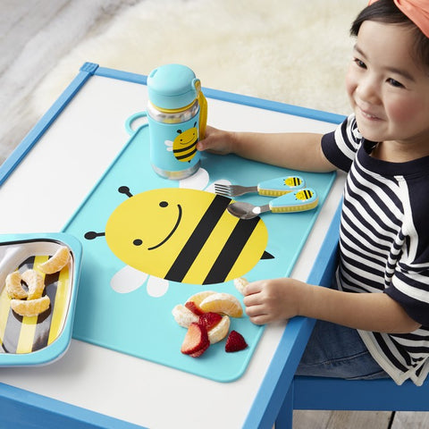 Skip Hop Zoo Fold & Go Placemat - Bee