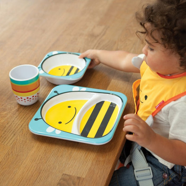 Skip Hop Zoo Tableware Melamine Set - Bee