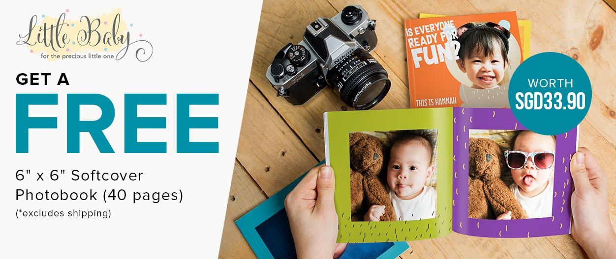 Get A Free Photo Book worth $33.90 at Little Baby