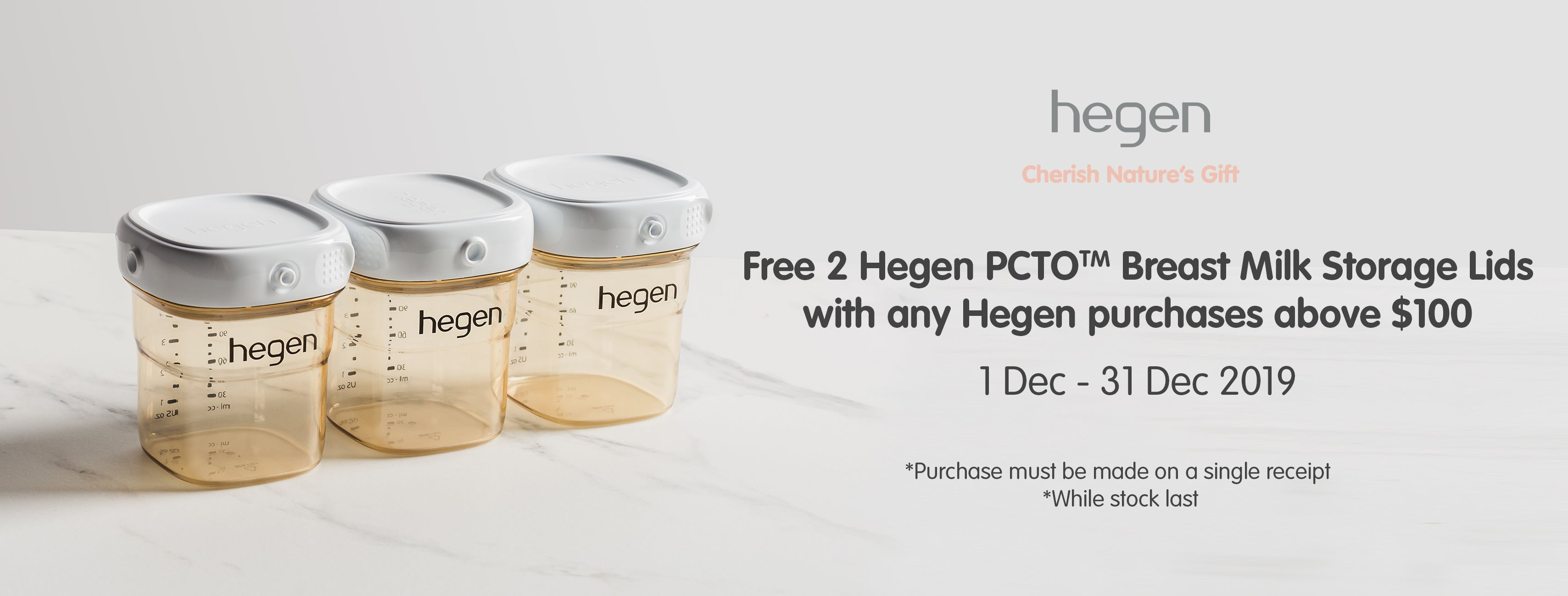 Hegen Christmas Promotion 2019