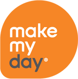 Make My Day Bib - Tux Black / White