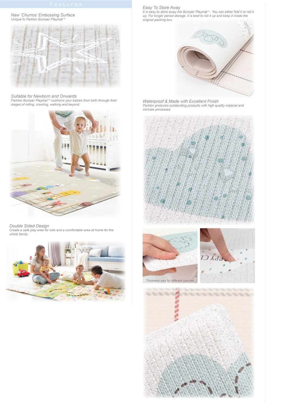 Parklon Playmat at Little Baby Store Singapore