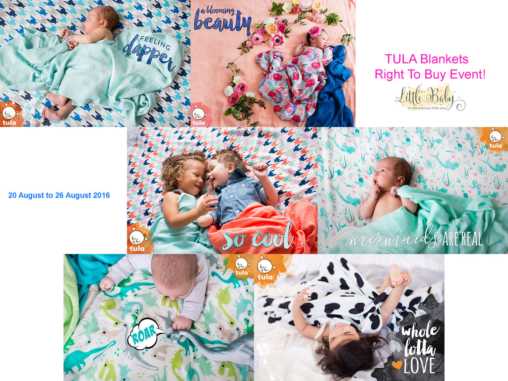 RTB Tula Blankets at Little Baby Store