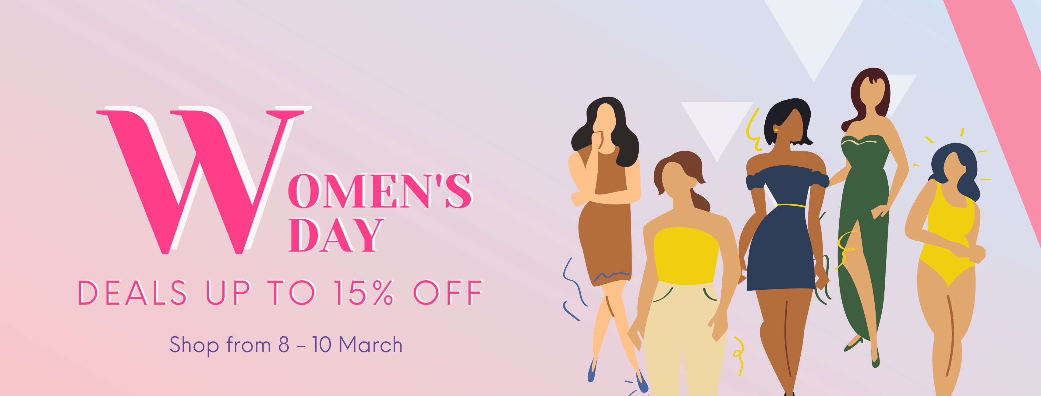Women's Day 2021 Deal Singapore