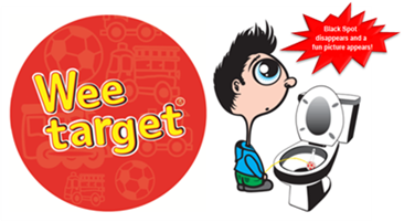 Wee Target Toilet Training for Boys