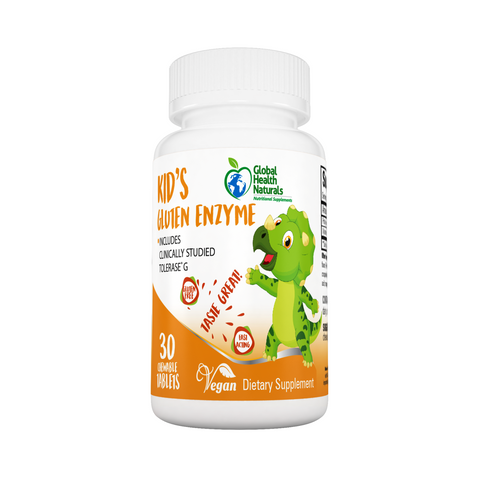Global Health Naturals Kid's Gluten Enzyme 30 ct