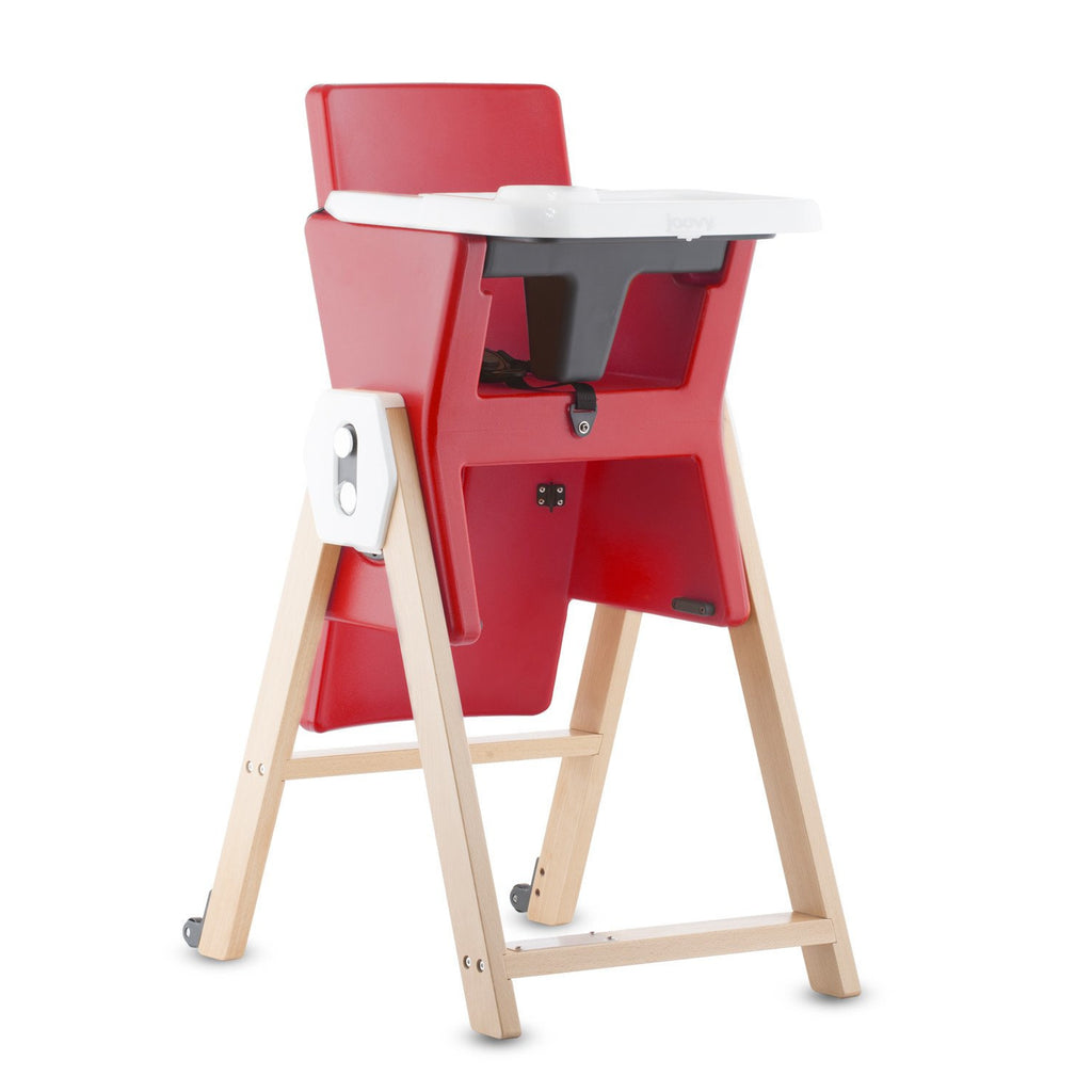 Joovy HiLo High Chair - Red - Little Baby