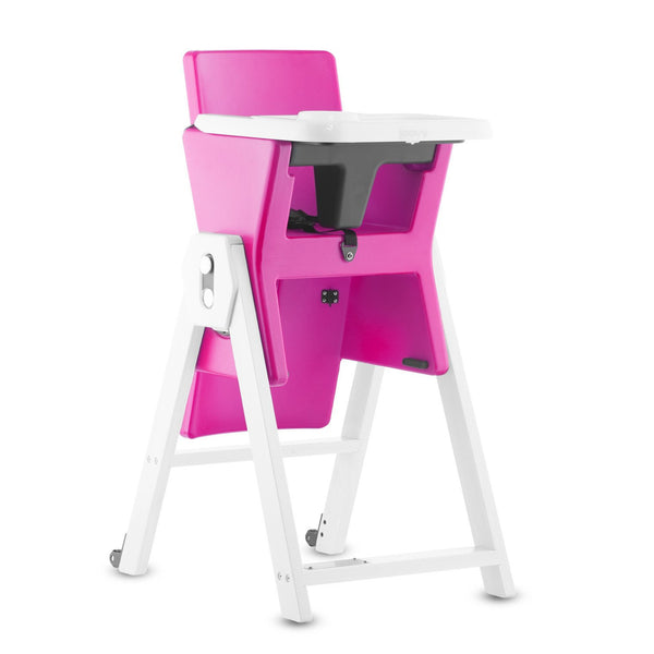 Joovy HiLo High Chair - Pink - Little Baby Singapore - 1