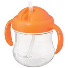 Pigeon MagMag Straw Cup (for 8 months onwards) Orange - Little Baby