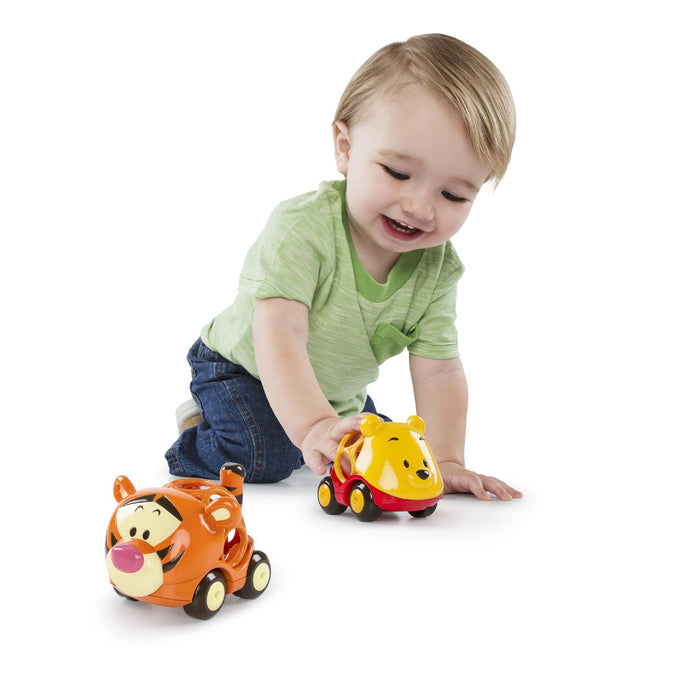 Bright Starts Oball Easy-Grasp Toy Winnie the Pooh & Friends Go Grippers