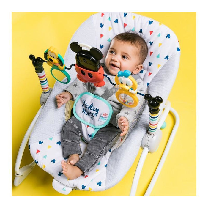Disney Rocker Mickey Mouse Take-Along Songs Infant-to-Toddler Rocker BS10327