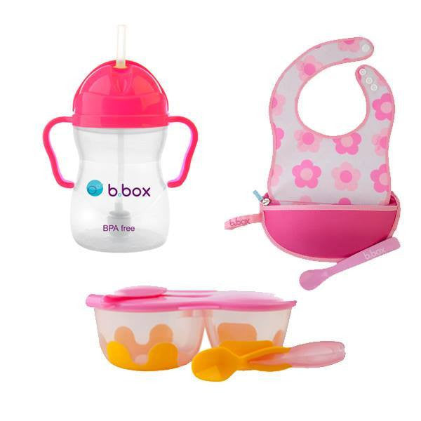 B.Box Travel Feeding Set (Popular) - Little Baby