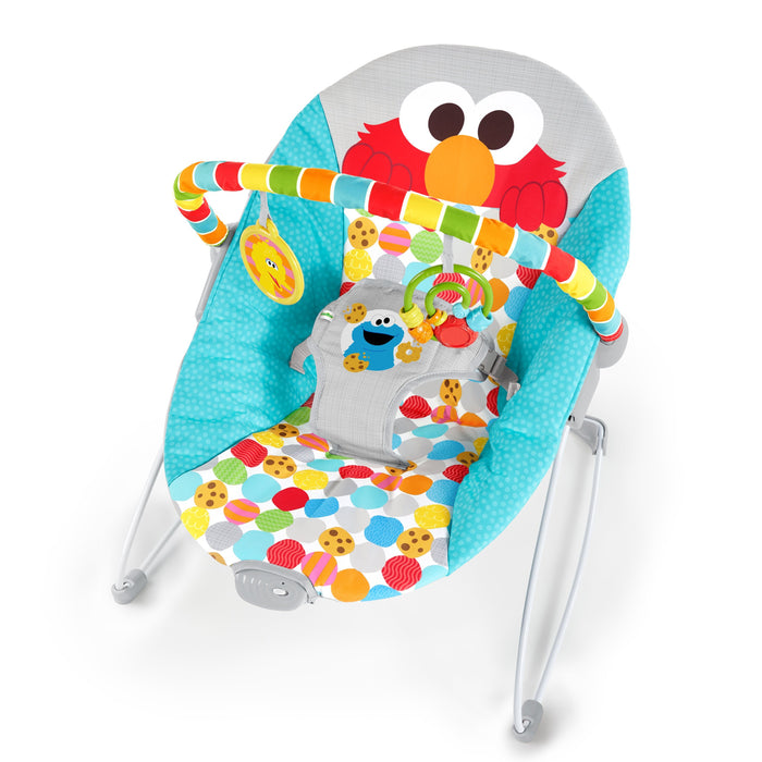 Sesame Street I Spot Elmo! Vibrating Bouncer BS11629 (P)