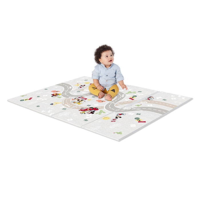 Disney Playmat Mickey Mouse On The Road Large Foam Playmat 119.38x88.9cm BS11698 P