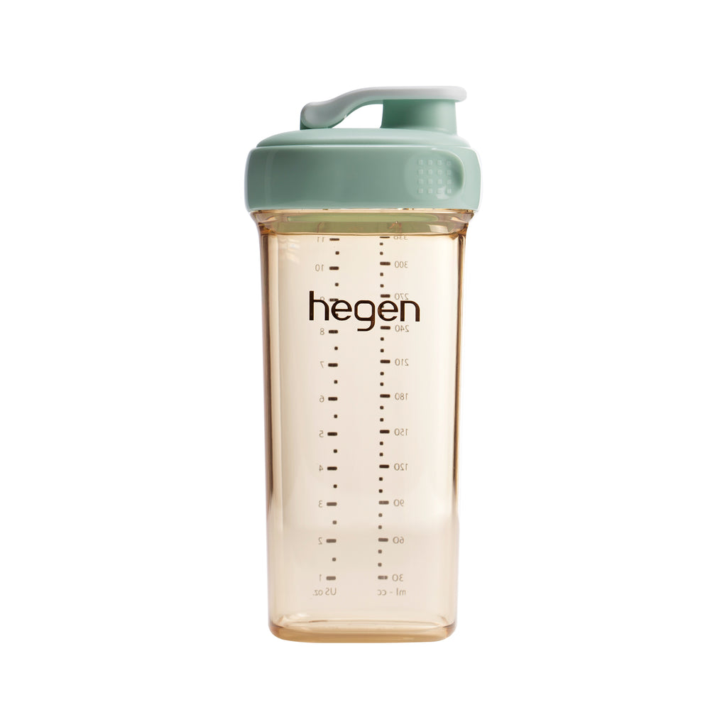 HEGEN PCTO™ 330ML/11OZ DRINKING BOTTLE PPSU GREEN