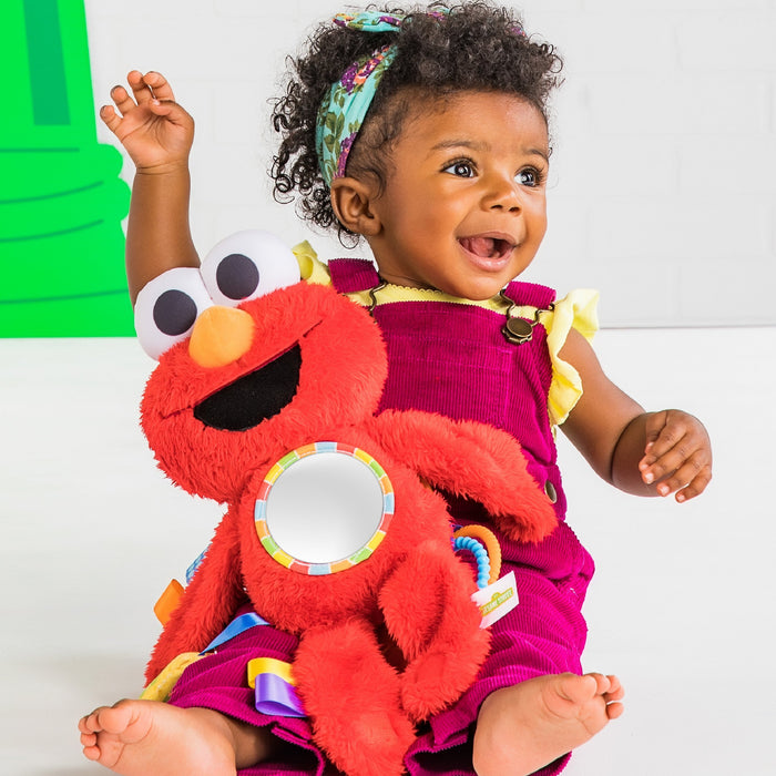 Sesame Street Elmo Travel Buddy On-the-Go Plush Attachment BS12080 (P)