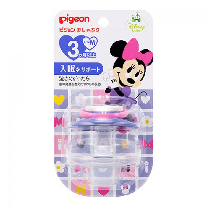 Pigeon Calming Soother M Size Minnie 3m+