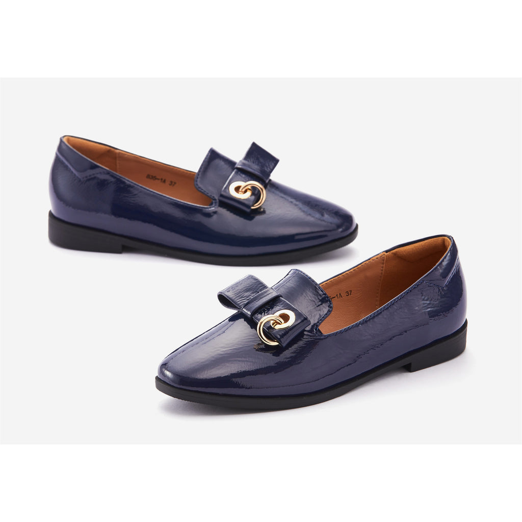 Lucca Vudor Comfort SHoes Singapore Fanny 835-1A Blue flats