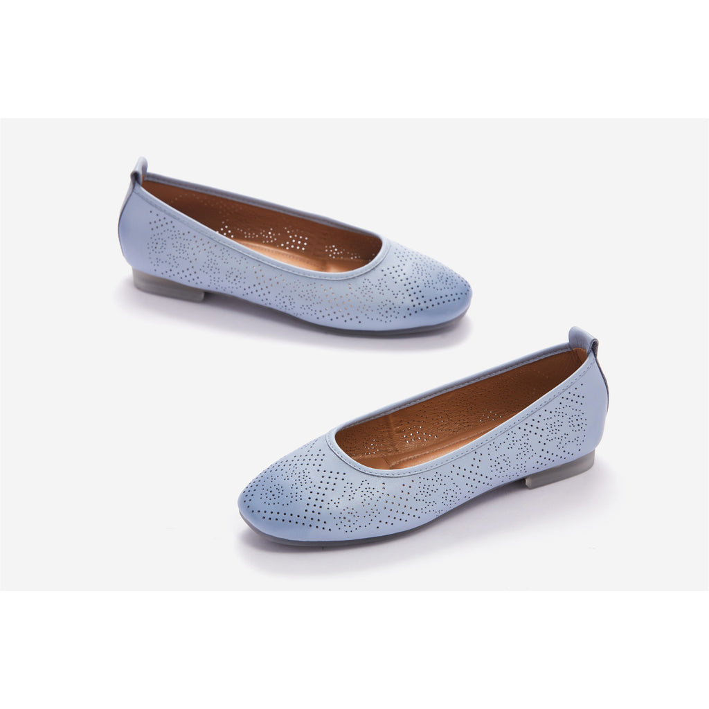 Lucca Vudor Comfort Shoes Singapore Fairyn Blue Flats