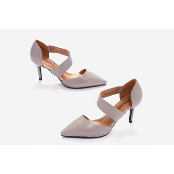 Lucca Vudor Comfort Shoes Singapore Eliane 824-102 Grey Heels