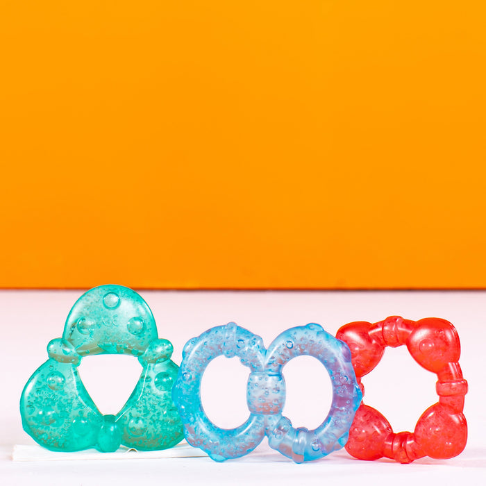 Bright Starts Stay Cool Teethers Gel-Filled 3 Pack BS11798