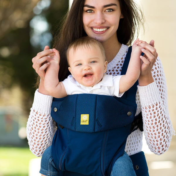 LilleBaby COMPLETE ALL SEASONS BABY CARRIER - NAVY