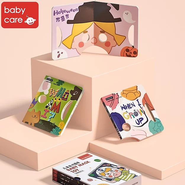 Bc Babycare Baby Mask Toy Book (3 Sets)