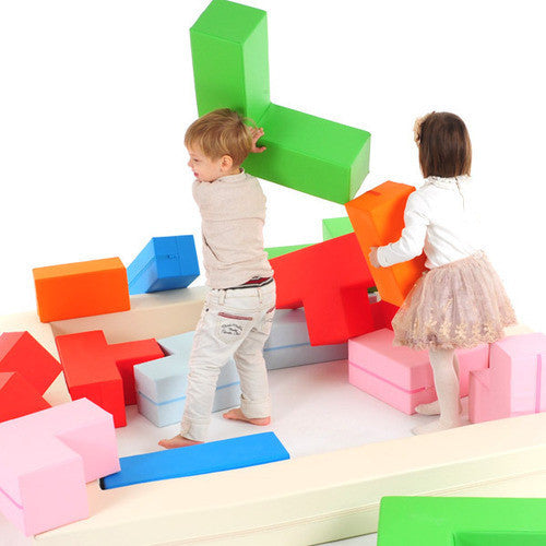 Play Tetris LIVE! - Foldaway Tedy Mat Play Set - Merrybubs